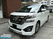 2017 TOYOTA VELLFIRE 2.5X (CHEAPEST IN TOWN!)