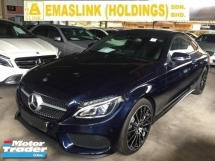 2017 MERCEDES-BENZ C-CLASS C300 W205  2.0 AMG COUPE LUXURY 2 DOOR P-ROOF KEYLESS PUSH START