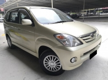 2005 TOYOTA AVANZA Toyota Avanza 1.3 MT DOUBLE BLOWER TIPTOP CONDITION