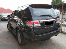 2013 TOYOTA FORTUNER 2.5G VNT 4X4 NEW TYRE 2.7 HIGH LOAN