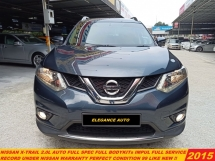 2015 NISSAN X-TRAIL  2.0 FACELIFT IMPUL(A)XTRAIL FULL SPEC LIKE NEW 7 SEATER