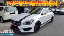 2015 MERCEDES-BENZ CLA CLA200 1.6cc (A) REG MAY 2015, ONE CAREFUL OWNER, FULL SERVICE RECORD, LOW MILEAGE DONE 73K KM, FREE 1 YEAR GMR CAR WARRANTY, CONVERT TO A45 BODY KIT & 19