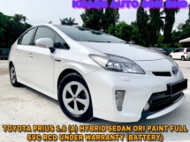2014 TOYOTA PRIUS 1.8 LUXURY FULL SPEC FULL SVC RCD