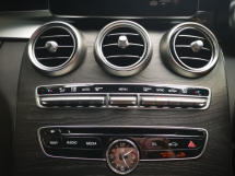 2014 MERCEDES-BENZ C-CLASS C180 AMG FULL SPEC - HEAD UP DISPLAY/POWER BOOT - JAPAN UNREG