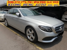 2017 MERCEDES-BENZ E-CLASS E200 2.0 (CKD Local Spec)