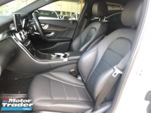 2015 MERCEDES-BENZ C-CLASS C180 AMG Sport Turbocharged HUD Head Up Display Automatic Power Boot Pre-Crash Distronic PLUS Memory Bucket Seat Intelligent LED Smart Entry Multi Function Paddle Shift Steering Touch Pad Mercedes Benz Interface Bluetooth Connectivity Unreg