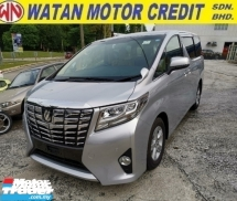 2015 TOYOTA ALPHARD 2.5 X 8s 7s Unregister 1 YEAR WARRANTY