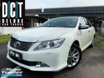2015 TOYOTA CAMRY 2.5V DUAL VVT-i LEATHER SEAT ELECTRIC SEAT 1ONWER SELDOM USE CAR