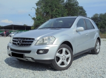 2006 MERCEDES-BENZ ML-CLASS  ML350 3.5 V6 W164 Facelift LikeNEW CBU