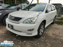 2008 TOYOTA HARRIER 240G L PACKAGE ALCANTARA SELECTION