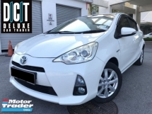 2014 TOYOTA PRIUS C 1.5 HYBRID HIGH SPEC NAVI LETAHER KEYLESS LIKE NEW CONDITION