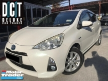 2014 TOYOTA PRIUS C 1.5 HYBRID LEATHER SEAT LOW MILEAGE ONE OWNER GPS HD REVERSE CAMERA