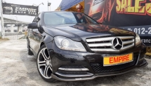 2012 MERCEDES-BENZ C-CLASS C200 BRABUS 1.8 (A) CGI TRUBO AVANTGARDE !! W204A MODEL !!CKD NEW FACELIFT !!  DOHC 16 VALVE IN-LINE 4 TURBO INTERCOOLER 5 SPEED AUTOMATIC TRANSMISSION !!  BRABUS FULL BODYKIT / BRABUS GEARKNOB / BRABUS FOOT PADDLE / BRABUS DOOR LOCK / BRABUS ILLUMINATED