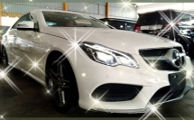 2014 MERCEDES-BENZ E-CLASS E250 CGI COUPE 3year warranty interest~2.48%  UP~RM5K~ON THE ROAD👍☺