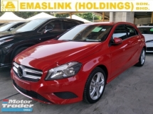 2015 MERCEDES-BENZ A-CLASS 180 1.6 TURBO AUTO CRUSIE CONTROL 17 SPORT RIM PADDLE SHIFT FREE WARRANTY