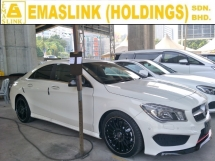 2014 MERCEDES-BENZ CLA 250 2.0 TURBO AMG JAPAN SPEC 2 MEMORY BUCKET SEATS REVERSE CAMERA 18 SPORT RIM AUTO CRUISE