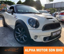 2012 MINI Cooper S 1.6 (A) COUPE LOCAL NICE NUMBER