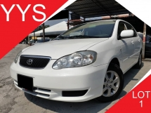 2001 TOYOTA COROLLA ALTIS 1.6 E (A) VVT-I KEPT WELL ACC FREE GOOD CONDITION PROMOTION PRICE.