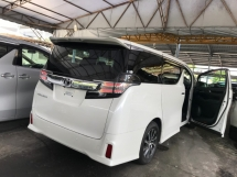 2017 TOYOTA VELLFIRE 2.5 Z FULL SPEC SUNROOF ALPINE SOUND POWER BOOTH 4 CAMERA 2017 JPN UNREG