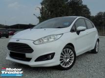 2013 FORD FIESTA  1.5 Sport Hatchback Facelift TipTOP LikeNEW
