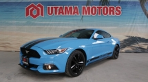 2017 FORD MUSTANG 2.3 ECO BOOST GRABBER BLUE MAX LOAN FAST APPROVAL PROMO