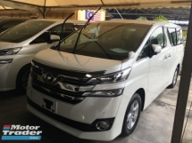 2015 TOYOTA VELLFIRE 2.5X SPEC LARGE MPV POWER DOOR CAMERA