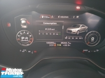 2016 AUDI TT 2.0 TT TFSI S LINE FACELIFT PUSH START KEYLESS PADDLE SHIFT 19 SPORT RIM FREE WARRANTY