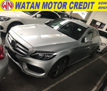2016 MERCEDES-BENZ C-CLASS C200 AMG SPORT PRE CRASH MEMORY LEATHER SEAT 2016 JAPAN UNREG
