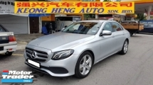 2017 MERCEDES-BENZ E-CLASS E200 CGI AVANT-GARDE (A) REG 2017, ONE CAREFUL OWNER, FULL SERVICE RECORD, LOW MILEAGE DONE 37K KM, UNDER MERCEDES BENZ WARRANTY UNTIL NOVEMBER 2021