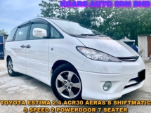 2009 TOYOTA ESTIMA 2.4AERAS S 2 POWER DOOR SHIFTMATIC 5 SPEED