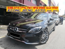 2017 MERCEDES-BENZ C-CLASS C350e 2.0 AMG Hybrid TRUE YEAR MADE 2017 CKD Reg 2018 10k km only Mercedes Malaysia Warranty to 2022
