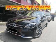 2017 MERCEDES-BENZ C-CLASS C350e 2.0 AMG Hybrid TRUE YEAR MADE 2017 CKD Reg 2018 10k km only Mercedes Malaysia Warranty to 2022