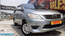 2015 TOYOTA INNOVA 2.0 (A) VVT-I !! 7 SEATERS MPV NEW FACELIFT !!  DOHC 16 VALVE 4 CYLINDER IN-LINE !! 4 SPEED AUTOMATIC TRANSMISSION !!  136 HP 182 NM !!   FULL SERVICE RECORD BY TOYOTA !! ORIGINAL MILEAGE DONE 32, 900 KM !! AVERAGE USAGE PER YEAR 6, 450 KM ONLY !!   FULL