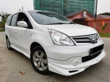2013 NISSAN GRAND LIVINA  IMPUL (A) BLACK INTERIOR, ONE CAREFUL OWNER, CAR KING
