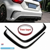 Mercedes W176 AClass Rear Bumper Canard Blade Exterior & Body Parts > Car body kits