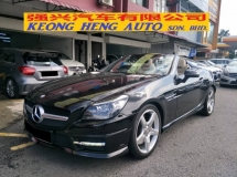 2012 MERCEDES-BENZ SLK 250 AMG SPORT 1.8 (UK SPEC)
