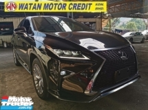 2017 LEXUS RX 200T F SPORT FULLSPEC.UNREG.TRUE YEAR CAN PROVE.PADDLE SHIFT.MEMORY SEAT.RED LEATHER.HEAD UP DISPLAY.AIRCOND SEAT.SIDE N REAR CAMERA.3 LED LIGHT.POWER BOOT N ETC.FREE WARRANTY N MANY GIFTS