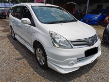 2012 NISSAN GRAND LIVINA 1.6 IMPUL (A) ONE OWNER