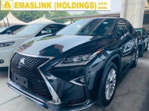 2017 LEXUS RX 200T F SPORT UNREG JAPAN POWER BOOT TURBO ENGINE LUXURY SUV OFFER NEGO