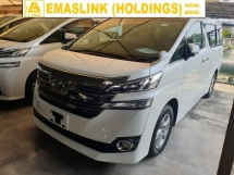 2016 TOYOTA VELLFIRE 2.5 7 Seater 2 Power Door Power Boot Surround Camera Local AP Unreg
