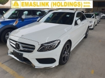2014 MERCEDES-BENZ C-CLASS C180 AMG Japan Spec Pre Crash Keyless Entry Rear Camera Local AP Unreg