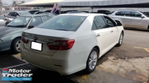 2013 TOYOTA CAMRY 2.0G SPEC (A) REG 2013, ONE OWNER, FULL SERVICE RECORD BY UMW TOYOTA, LOW MILEAGE DONE 105K KM, KEY LESS, PUSH START, 16\