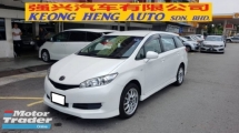 2009 TOYOTA WISH 1.8X MODEL (A) REG 2012, ONE CAREFUL OWNER, 100% ACCIDENT FREE, LOW MILEAGE DONE 105K KM, 17\