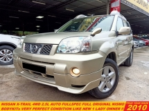 2010 NISSAN X-TRAIL 2.5 LUXURY 4WD (A) LIKE NEW CAR