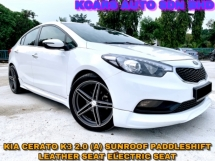 2015 KIA CERATO 2.0  F/SPEC SUNROOF PADDLESHIFT NICE NUMBER