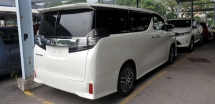 2015 TOYOTA VELLFIRE 2.5ZG Edition ACTUAL YEAR MAKE NO HIDDEN CHARGES