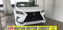 2017 LEXUS RX 200T F SPORT ACTUAL YEAR MAKE NO HIDDEN CHARGES