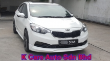 2016 KIA CERATO 2.0 (A) YD K3 Go With Nice Number 5666 Push Start Paddle Shift Sunroof Leather Seat Touch Screen Player Worth Buy