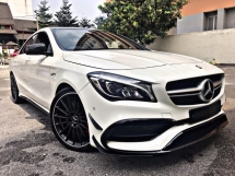 2016 MERCEDES-BENZ CLA 45 2.0 AMG EDITION 1 4MATIC SPECIAL PROMOTION BAGI JADI JAA!!