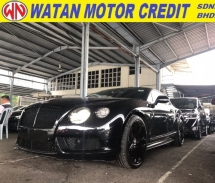 2015 BENTLEY CONTINENTAL CONTINENTAL GT 4.0 V8S CONCOURS MULLINER SPEC 2015 UNREG